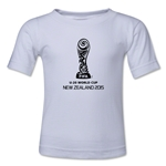 FIFA U-20 World Cup New Zealand 2015 Kids Emblem 2 T-Shirt (White)