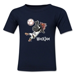 FIFA U-20 World Cup New Zealand 2015 Kids Mascot 2 T-Shirt (Navy)