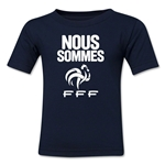 France Nous Sommes Kids T-Shirt (Navy)
