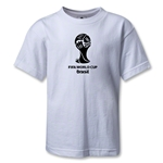 2014 FIFA World Cup Brazil(TM) Kids Emblem T-Shirt (White)