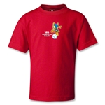 2014 FIFA World Cup Brazil(TM) Kids Mascot T-Shirt (Red)