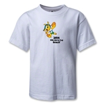 2014 FIFA World Cup Brazil(TM) Kids Mascot T-Shirt (White)