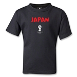 Japan 2014 FIFA World Cup Brazil(TM) Kids Core T-Shirt (Black)