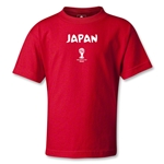 Japan 2014 FIFA World Cup Brazil(TM) Kids Core T-Shirt (Red)