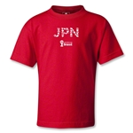 Japan 2014 FIFA World Cup Brazil(TM) Kids Elements T-Shirt (Red)