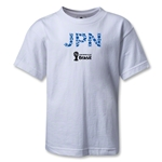 Japan 2014 FIFA World Cup Brazil(TM) Kids Elements T-Shirt (White)