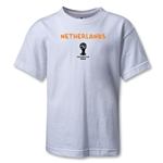 Netherlands 2014 FIFA World Cup Brazil(TM) Kids Core T-Shirt (White)