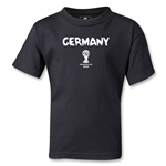 Germany 2014 FIFA World Cup Brazil(TM) Kids Core T-Shirt (Black)