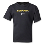 Germany 2014 FIFA World Cup Brazil(TM) Kids Palm T-Shirt (Black)