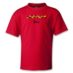 Germany 2014 FIFA World Cup Brazil(TM) Kids Palm T-Shirt (Red)