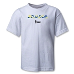 Ecuador 2014 FIFA World Cup Brazil(TM) Kids Palm T-Shirt (White)