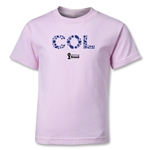 Colombia 2014 FIFA World Cup Brazil(TM) Kids Elements T-Shirt (Pink)