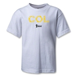 Colombia 2014 FIFA World Cup Brazil(TM) Kids Elements T-Shirt (White)