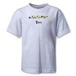 Colombia 2014 FIFA World Cup Brazil(TM) Kids Palm T-Shirt (White)