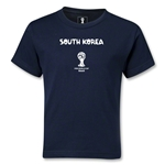 South Korea 2014 FIFA World Cup Brazil(TM) Kids Core T-Shirt (Navy)