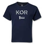 South Korea 2014 FIFA World Cup Brazil(TM) Kids Elements T-Shirt (Navy)