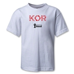 South Korea 2014 FIFA World Cup Brazil(TM) Kids Elements T-Shirt (White)