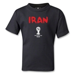 Iran 2014 FIFA World Cup Brazil(TM) Kids Core T-Shirt (Black)