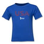 USA 2014 FIFA World Cup Brazil(TM) Kids Elements T-Shirt (Royal)