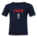 Chile 2014 FIFA World Cup Brazil(TM) Kids Core T-Shirt (Navy)