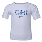 Chile 2014 FIFA World Cup Brazil(TM) Kids Elements T-Shirt (White)