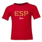 Spain 2014 FIFA World Cup Brazil(TM) Kids Elements T-Shirt (Red)