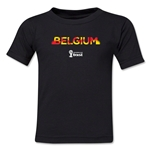 Belgium 2014 FIFA World Cup Brazil(TM) Kids Elements T-Shirt (Black)