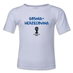 Bosnia-Herzegovina 2014 FIFA World Cup Brazil(TM) Kids Core T-Shirt (White)