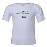 Bosnia-Herzegovina 2014 FIFA World Cup Brazil(TM) Kids Palm T-Shirt (White)