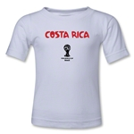 Costa Rica 2014 FIFA World Cup Brazil(TM) Kid's Core T-Shirt (White)