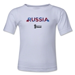 Russia 2014 FIFA World Cup Brazil(TM) Kid's Palm T-Shirt (White)