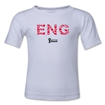 England 2014 FIFA World Cup Brazil(TM) Kid's Elements T-Shirt (White)