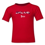 England 2014 FIFA World Cup Brazil(TM) Kid's Palm T-Shirt (Red)