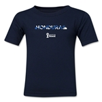 Honduras 2014 FIFA World Cup Brazil(TM) Kid's Elements T-Shirt (Navy)