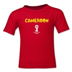 Cameroon 2014 FIFA World Cup Brazil(TM) Kid's Core T-Shirt (Red)