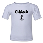 Ghana 2014 FIFA World Cup Brazil(TM) Kid's Core T-Shirt (White)