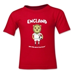England 2014 FIFA World Cup Brazil(TM) Kids Mascot T-Shirt (Red)