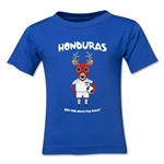 Honduras 2014 FIFA World Cup Brazil(TM) Kids Mascot T-Shirt (Royal)