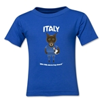 Italy 2014 FIFA World Cup Brazil(TM) Kids Mascot T-Shirt (Royal)