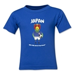 Japan 2014 FIFA World Cup Brazil(TM) Kids Mascot T-Shirt (Royal)