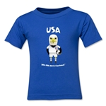 USA 2014 FIFA World Cup Brazil(TM) Kids Mascot T-Shirt (Royal)