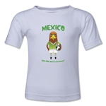 Mexico 2014 FIFA World Cup Brazil(TM) Kids Mascot T-Shirt (White)