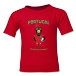 Portugal 2014 FIFA World Cup Brazil(TM) Kids Mascot T-Shirt (Red)