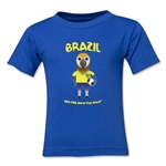Brazil 2014 FIFA World Cup Brazil(TM) Kids Mascot T-Shirt (Royal)