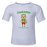 Cameroon 2014 FIFA World Cup Brazil(TM) Kids Mascot T-Shirt (White)
