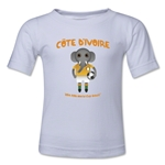 Cote d'Ivoire 2014 FIFA World Cup Brazil(TM) Kids Mascot T-Shirt (White)