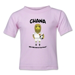 Ghana 2014 FIFA World Cup Brazil(TM) Kids Mascot T-Shirt (Pink)