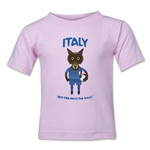Italy 2014 FIFA World Cup Brazil(TM) Kids Mascot T-Shirt (Pink)
