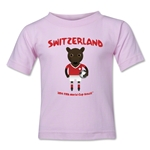 Switzerland 2014 FIFA World Cup Brazil(TM) Kids Mascot T-Shirt (Pink)