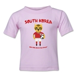 South Korea 2014 FIFA World Cup Brazil(TM) Kids Mascot T-Shirt (Pink)